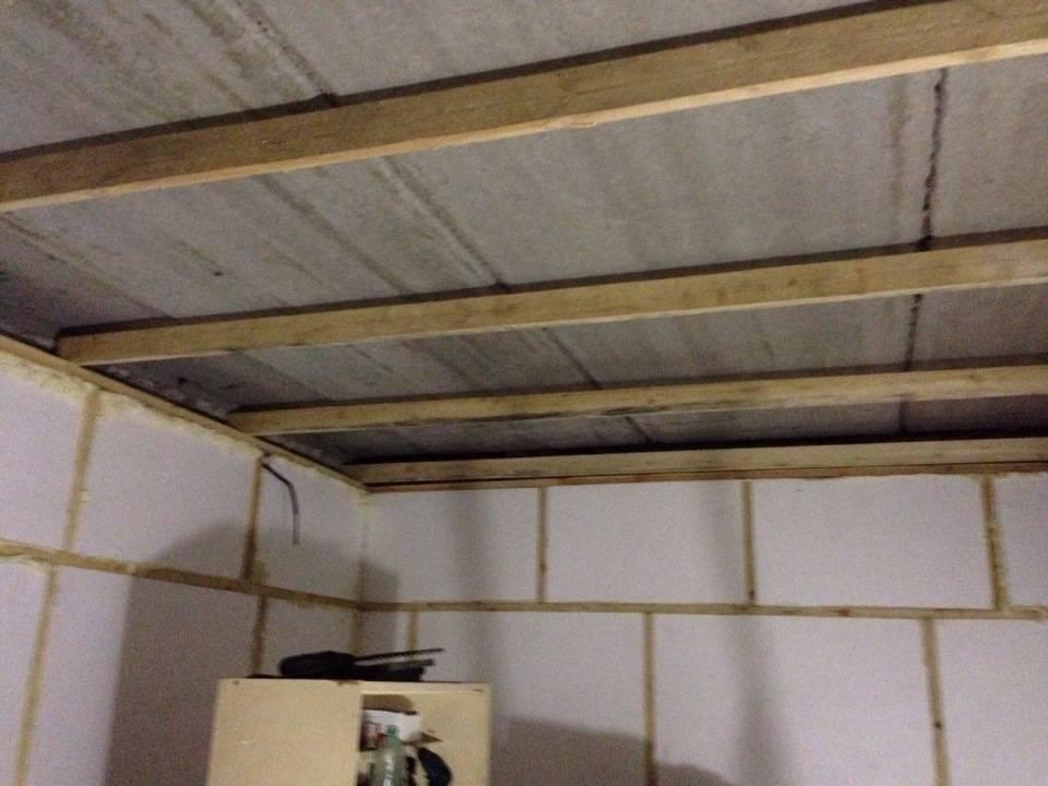 Как утеплить потолок в гараже - дешево, изнутри, своими руками, из пенопласта, дешевле, видео