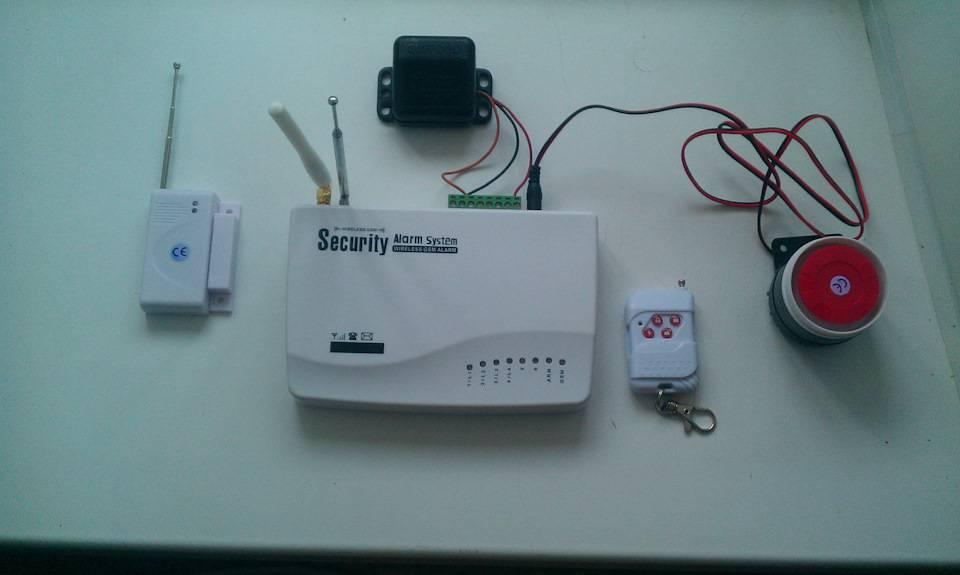 Gsm сигнализации для гаража
