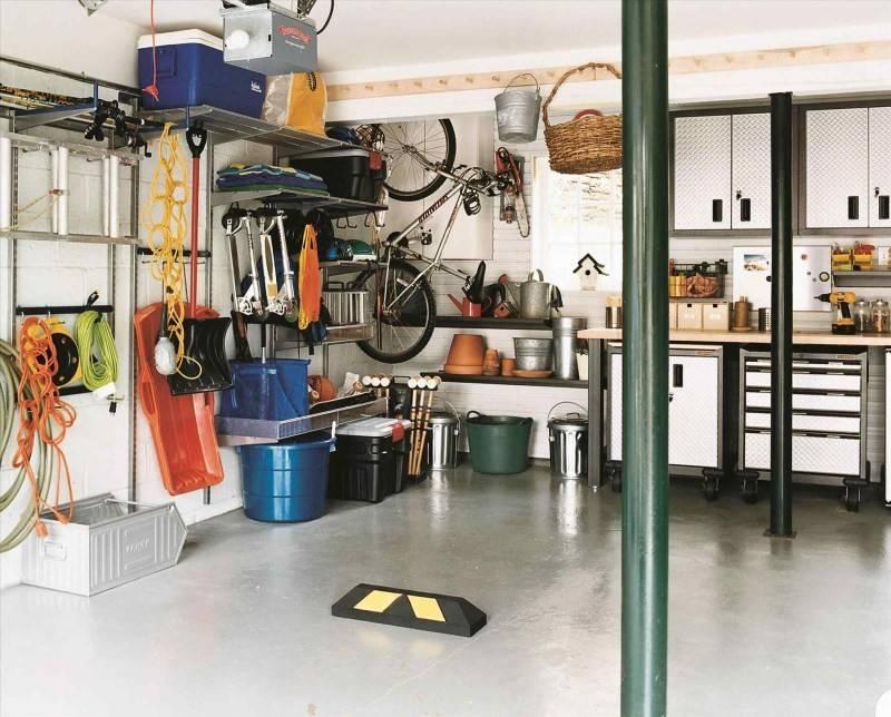 Обустройство гаража своими руками