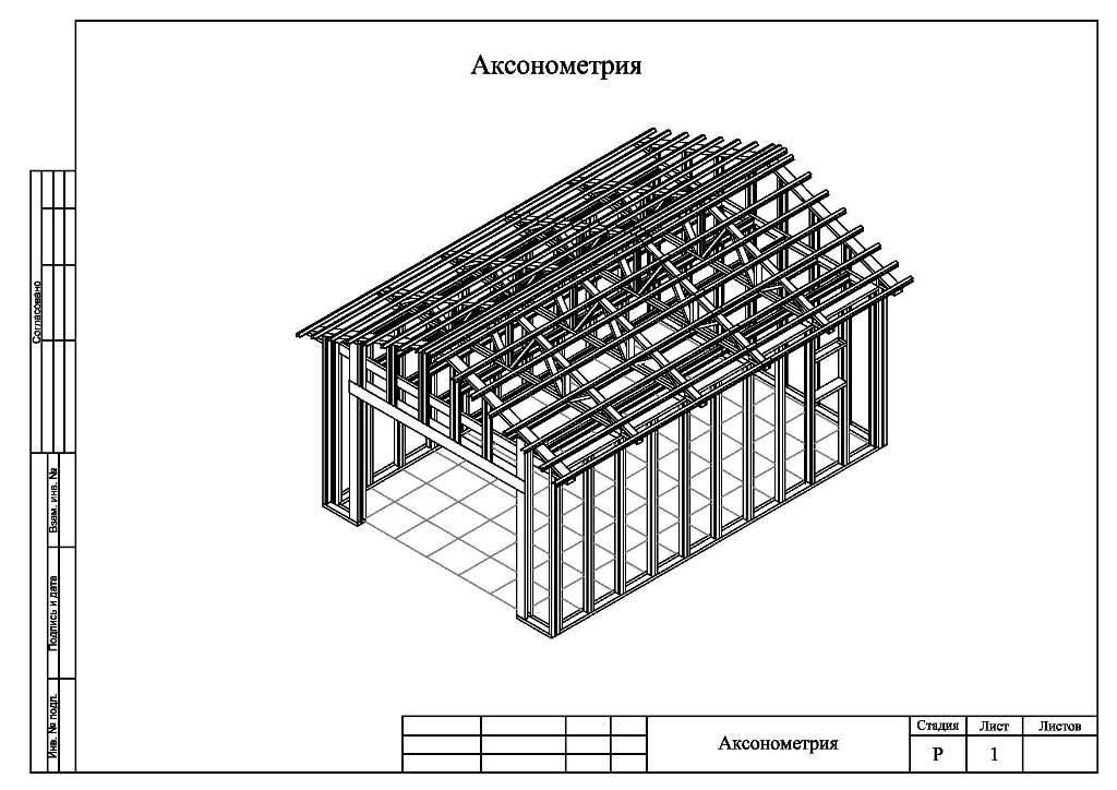Строительство каркасных гаражей: как правильно сделать