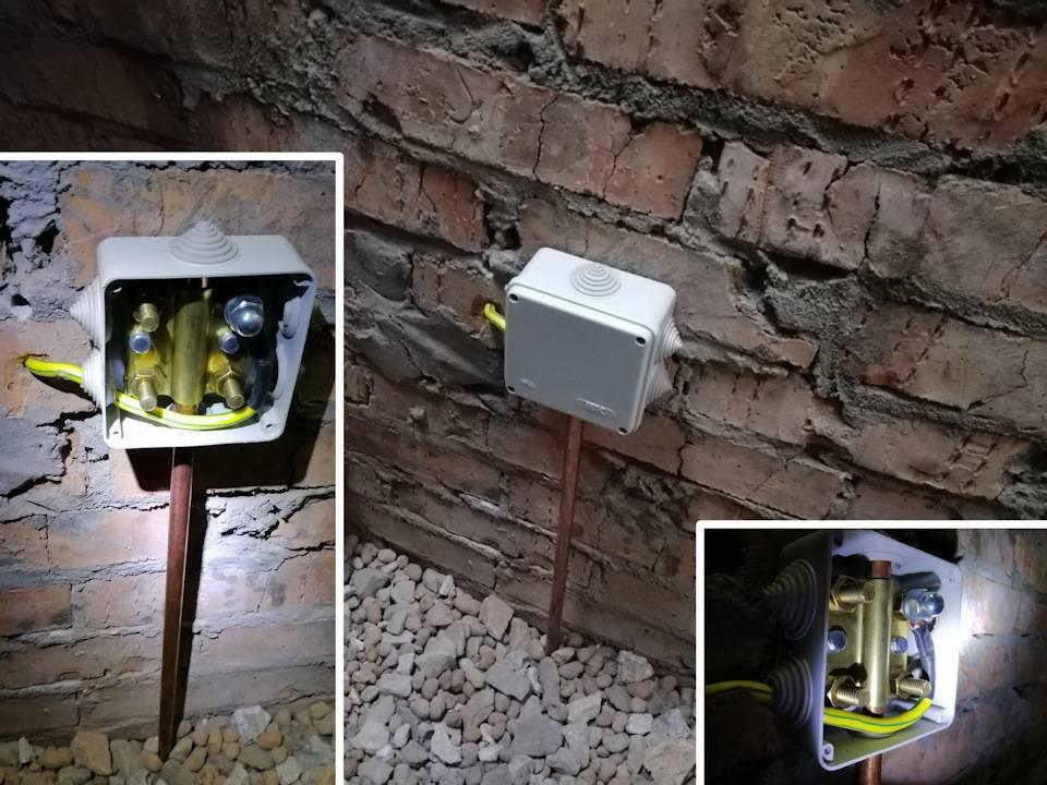 Заземление в гараже своими руками: полная инструкция - электрик
