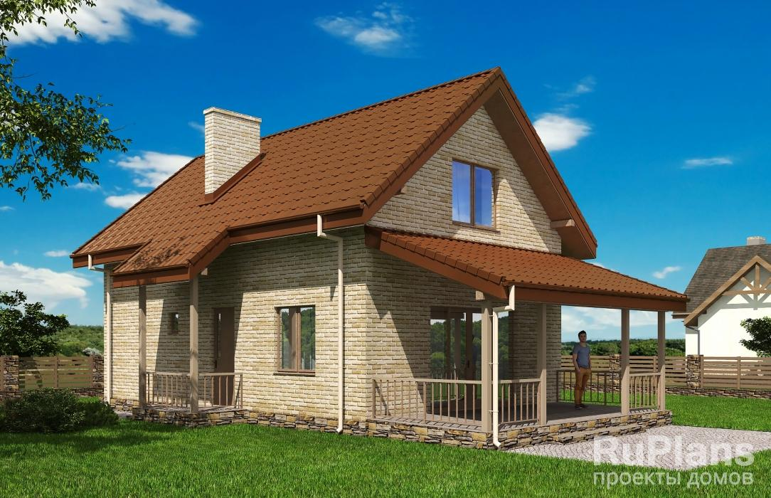 Двухэтажные коттеджи с подвалом и гаражом: планы и проекты дома с мансардой