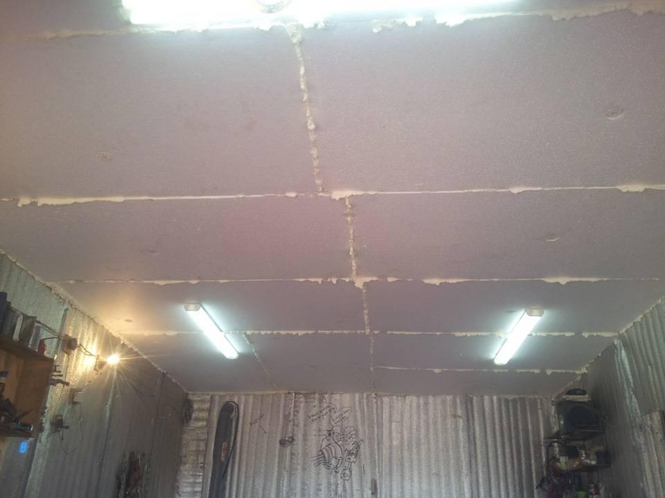Чем подшить потолок в гараже? (8 фото)