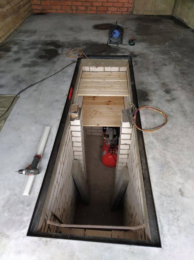 Вентиляция смотровой ямы в гараже: специфика обустройства системы воздухообмена