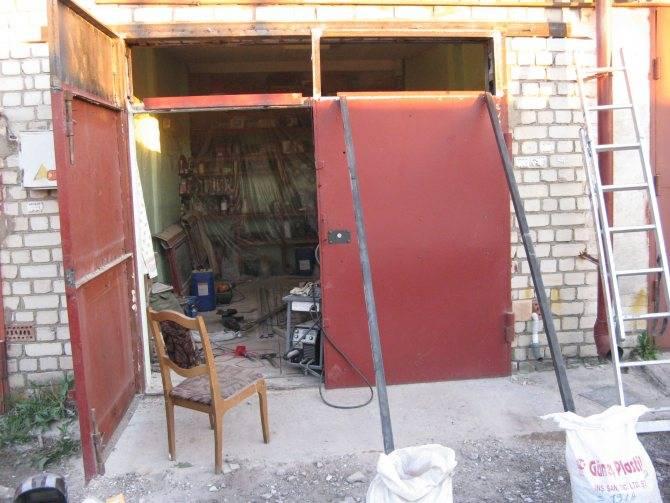 Как увеличить высоту гаража: мастер класс от подписчика