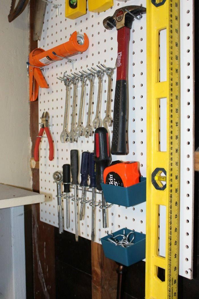 ᐉ стеллаж для хранения инструментов в гараже ∗ своими руками » подробная инструкция как сделать + фото + видео   погреб-подвал