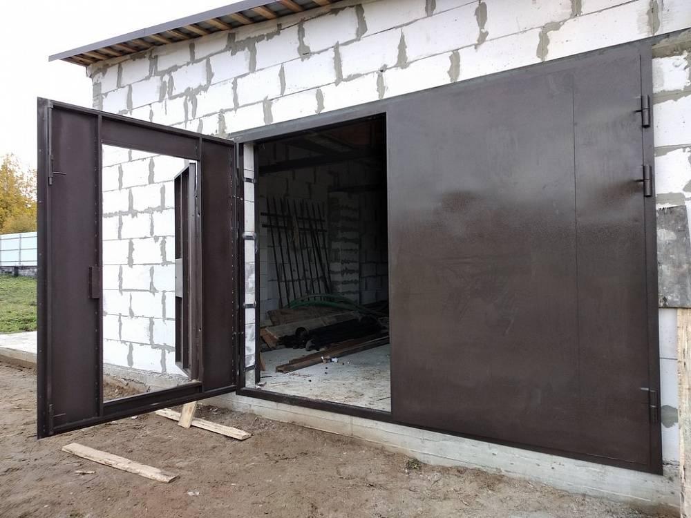Как легко сварить ворота без посторонней помощи