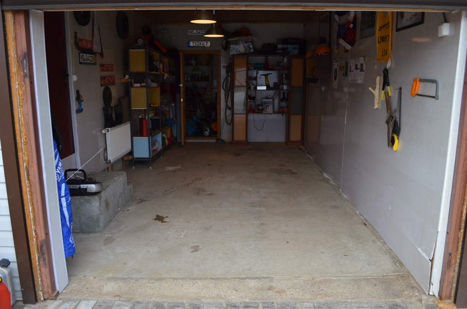 Устройство и ремонт пола в гараже своими руками