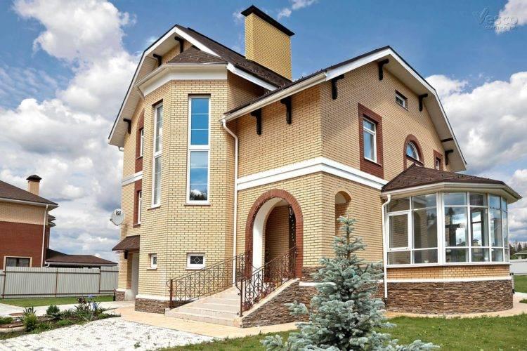 Проекты домов из кирпича – качество и надежность, проверенные годами