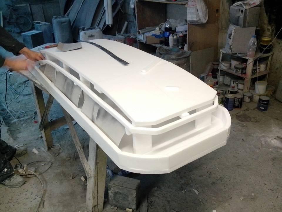 Короб на крышу автомобиля