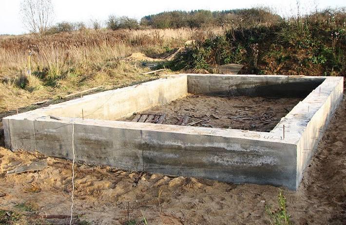 Фундамент под гараж: пошаговая инструкция заливки, расчет количества материала