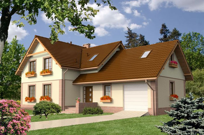 Лучшие проекты домов с гаражом под одной крышей (50 фото) различных вариантов размещения