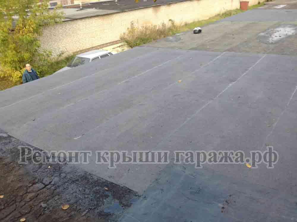 Как правильно покрыть крышу гаража