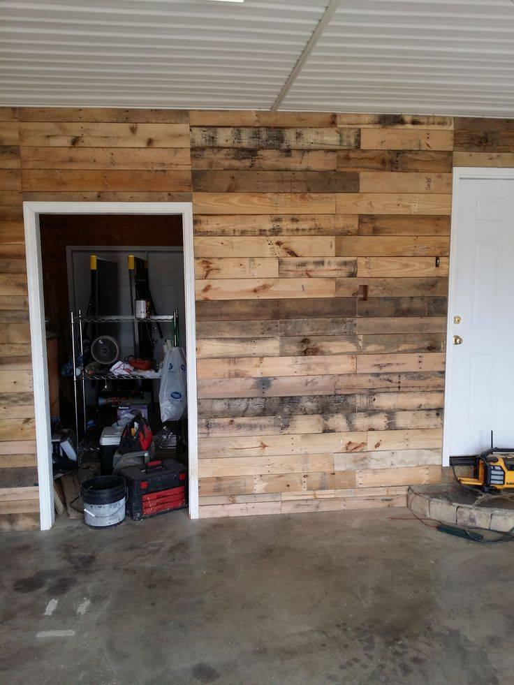 Отделка стен в гараже своими руками