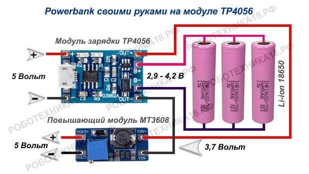 Как устроен повер банк для зарядки телефона