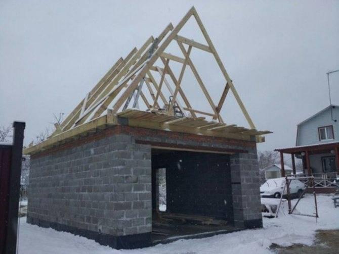 Инструкция по монтажу двухскатной крыши ⋆ domastroika.com