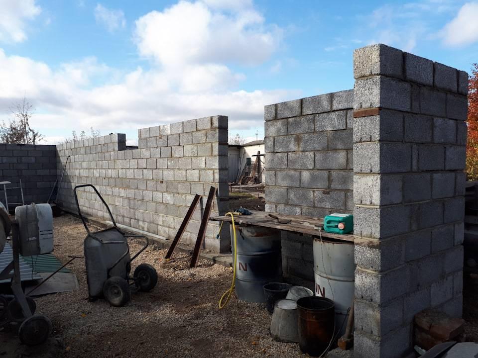 Сарай из керамзитобетонных блоков: требования к камню, как построить своими руками, фото, плюсы и минусы материала для возведения хозяйственных помещений