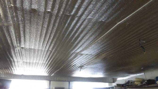 Как утеплить потолок в гараже: выбираем и делаем