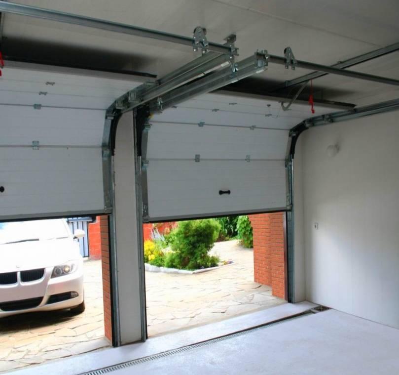 Ремонт и утепление гаражных ворот своими руками