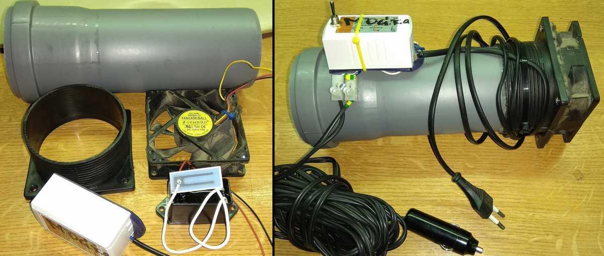 Как сделать ионизатор воздуха своими руками?