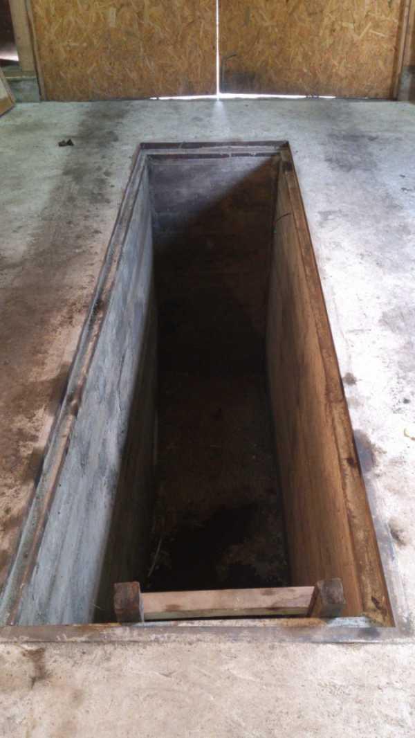 Яма в гараже своими руками - 110 фото как построить смотровую яму в гараже