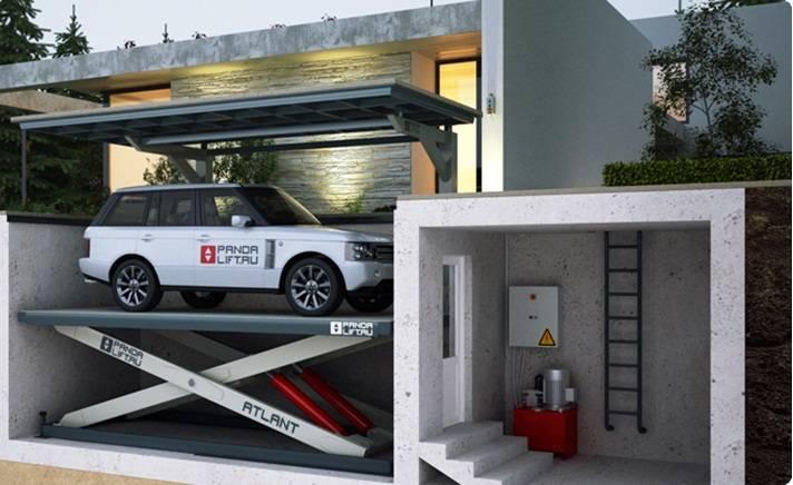 Проекты с подземными гаражами под домом