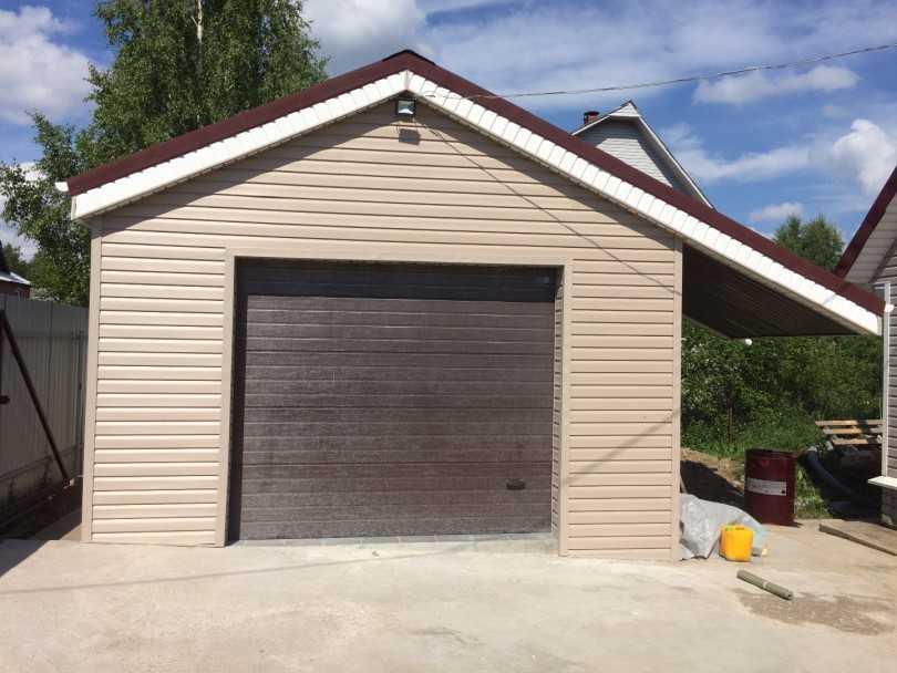 Выбираем материал для гаража: из чего строить?