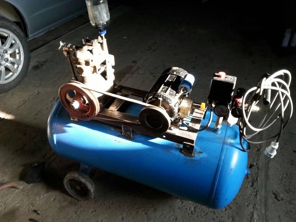 Как сделать воздушный компрессор своими руками: изготовление из холодильника для покраски, накачки шин и бытовой
