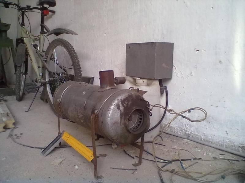 Печь для гаража своими руками: 21 фото пошагового изготовления