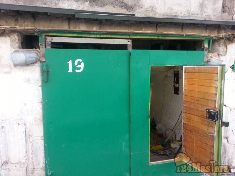 Ворота в гаража подъемные - как сделать своими руками
