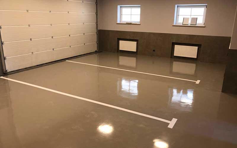 Наливной пол для гаража своими руками: резиновое и полимерное покрытие