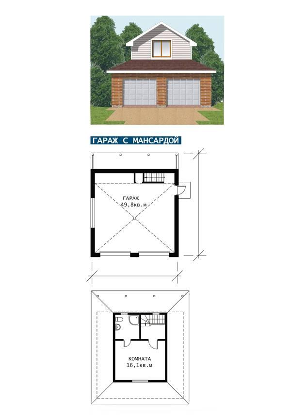 Устройство гаража со вторым этажом: нюансы строительного процесса, юридическая сторона вопроса