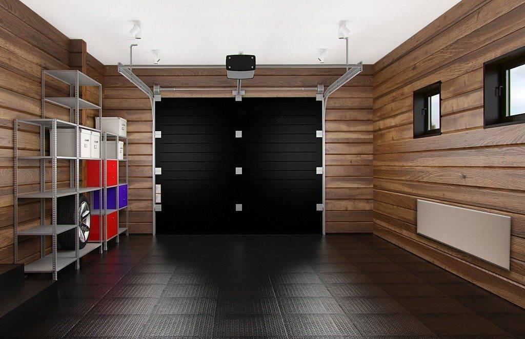 40 идей с фото по внутренней отделке гаража своими руками