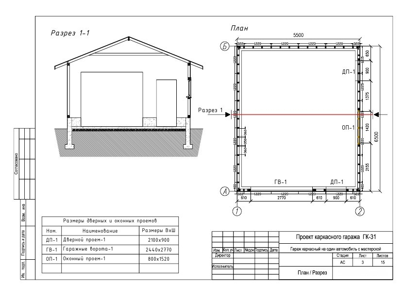 Как построить гараж из пеноблоков своими руками: проект, порядок работ