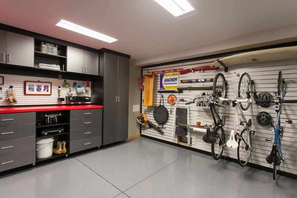 Дизайн гаража своими руками: интересные планировки интерьера, схемы и размеры