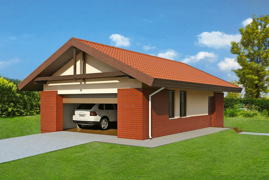 Двухэтажный гараж: материалы для возведения, виды конструкций и технологии сооружения