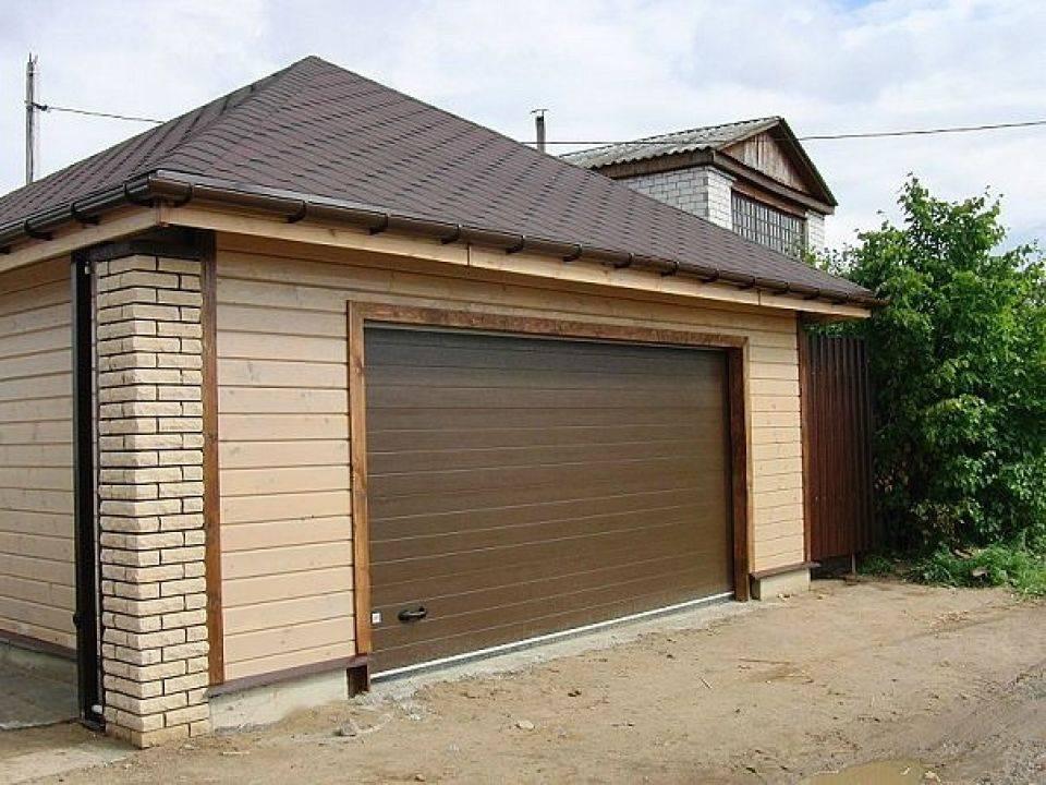 Чем обшить гараж снаружи дешево и красиво фото