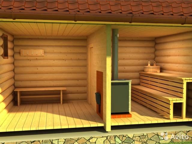 Проект гаража с баней: особенности строительства и выбор материала