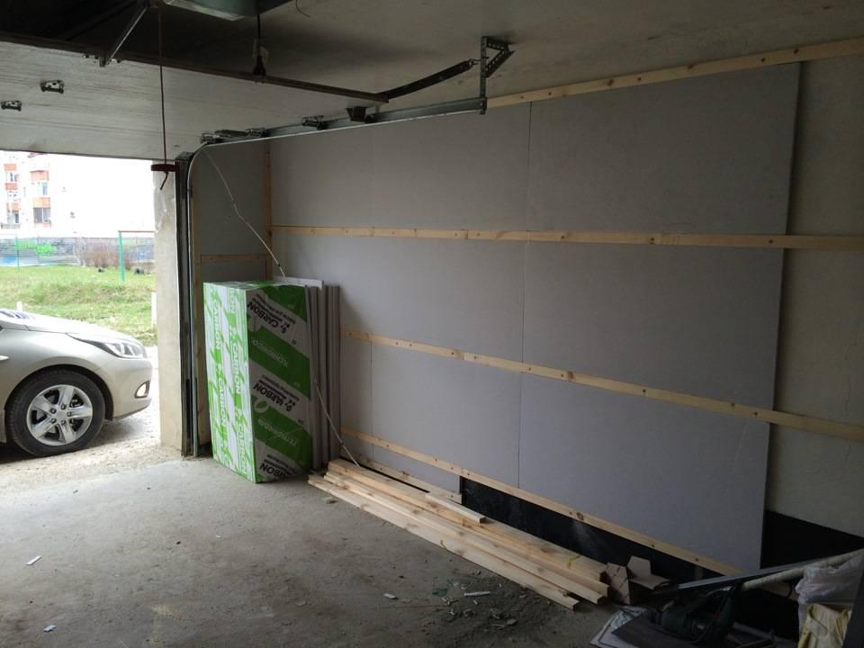 Способы утепления гаража изнутри своими руками