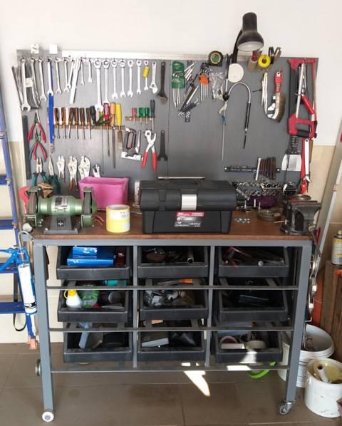 ➤ полезные приспособления для обустройства гаража своими руками   мы строители ✔1