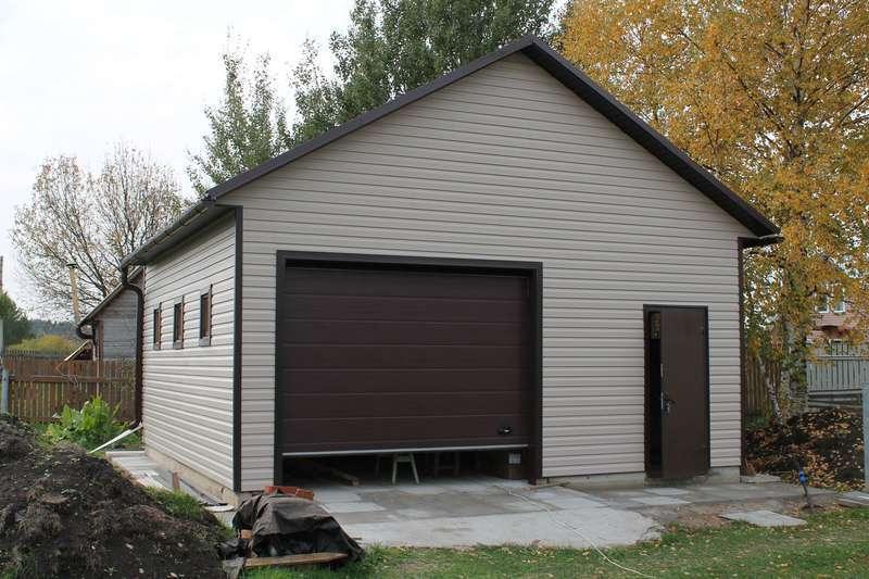 Самостоятельная облицовка гаража снаружи: порядок проведения работ