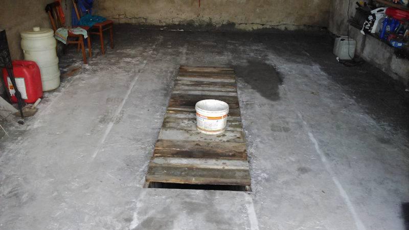 Наливной пол для гаража: кем и как залить слой 5 см своими руками