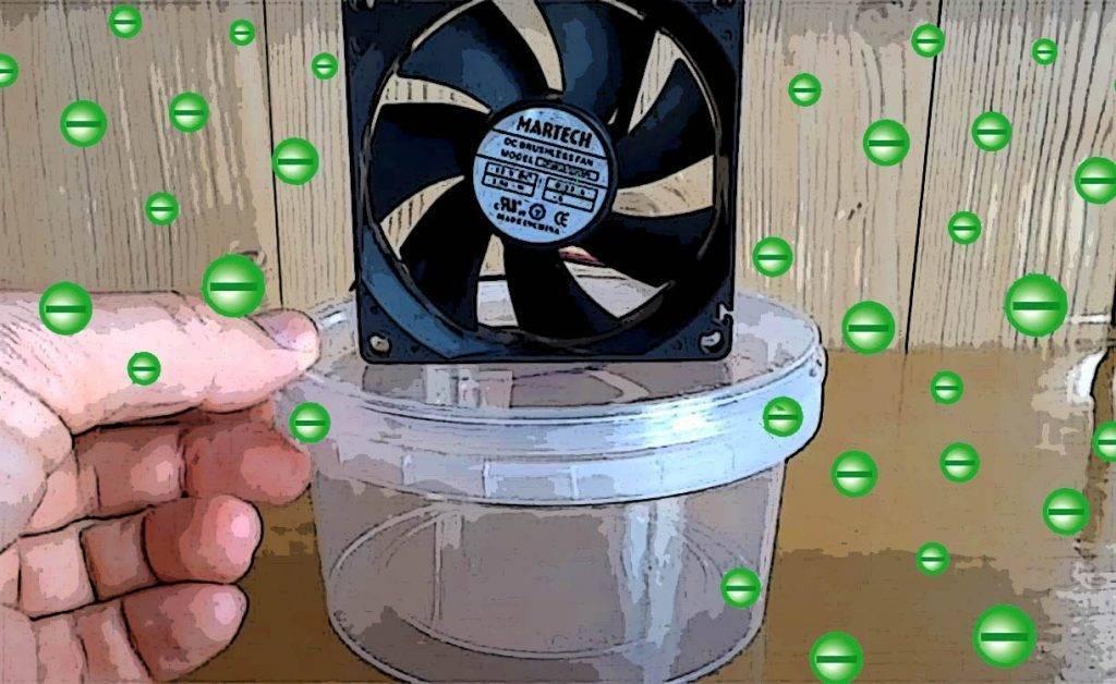 Ионизатор водысвоими руками: делаем из доступных предметов со схемой