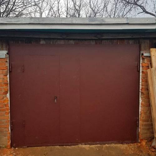 Как увеличить проем гаражных ворот своими руками