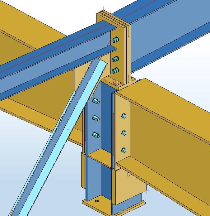 Болтовые соединения стальных конструкций без натяжения по сп