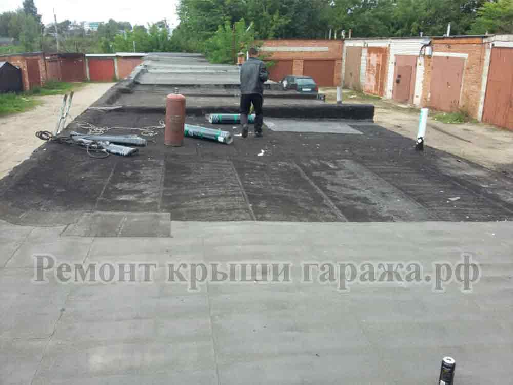 Чем лучше покрыть крышу гаража