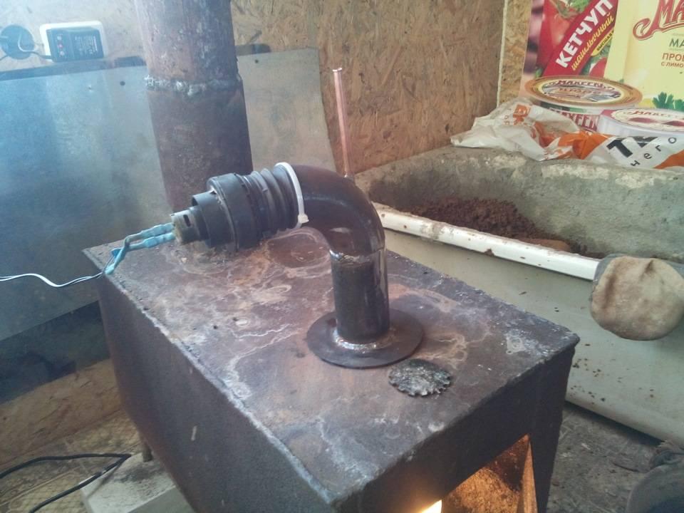 Печь на отработке для гаража своими руками: пошаговое руководство по конструированию