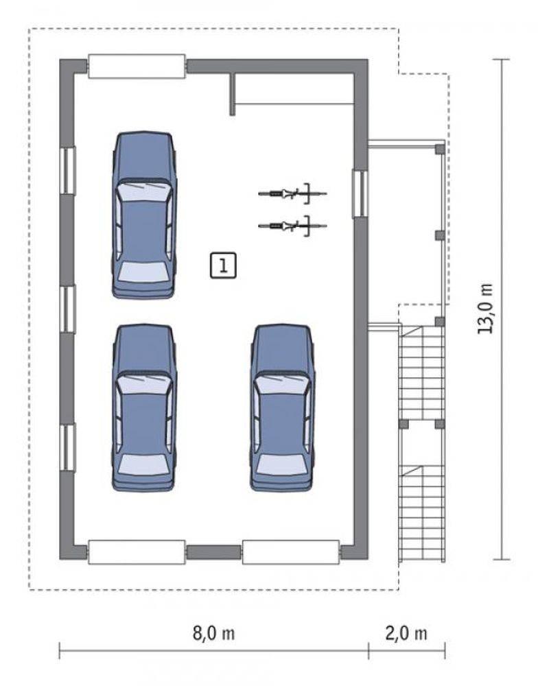 Размер ворот для гаража: стандартные параметры высоты и ширины, расчеты