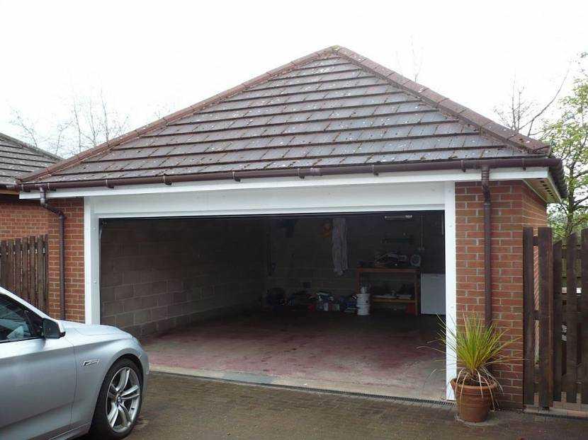 Какой материал лучше для крыши гаража