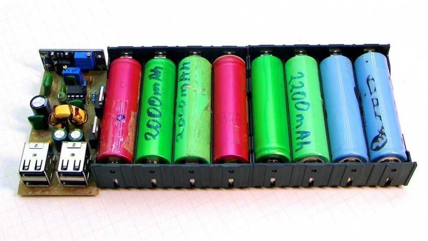 Повер банк (power bank) своими руками: как собрать из батареек, 18650, аккумулятора от телефона, схема, видео